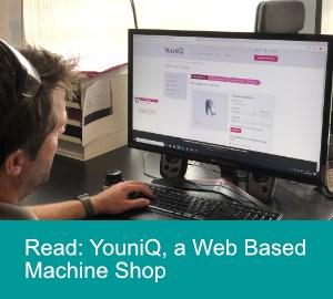 YouniQ Web Based Machine Shop