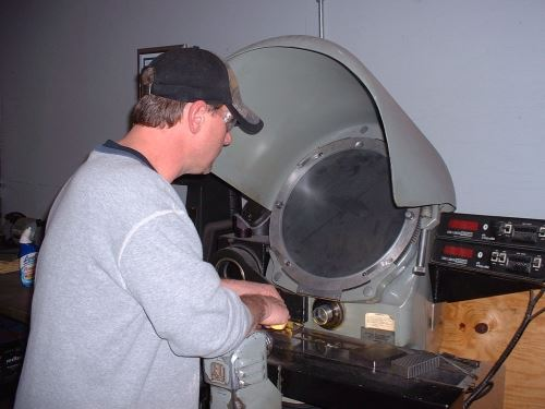 inspecting cutting tool