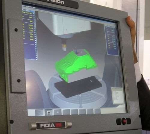 Fidia's ViMill 3D simulator