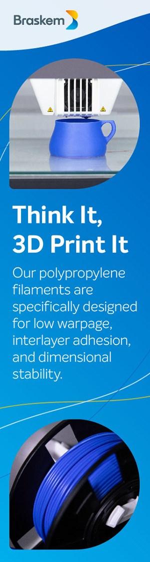 3D-Printing Polypropylene Filament