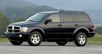 The fully redesigned 2004 Dodge Durango comes standard with the 4.7L engine.