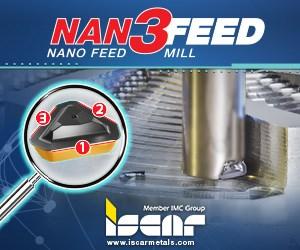 Iscar NAN3Feed Nano Feed Mill