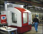 36,000-rpm machining center