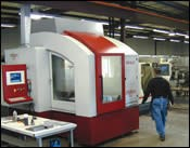 36,000-rpm machining center