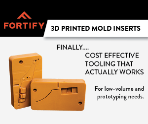 3D Printed Mold Inserts for Prototyping