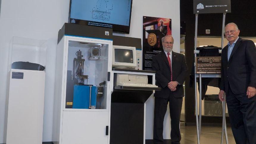 Bob Sims, ASME, and Chuck Hull, 3D Systems