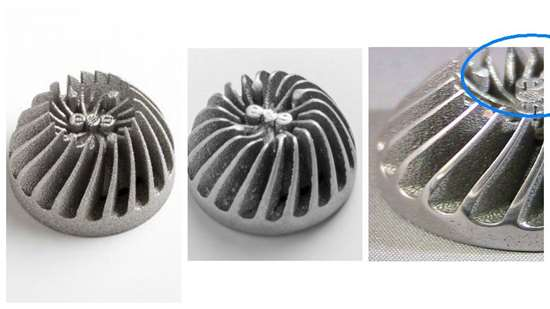 Aluminide part