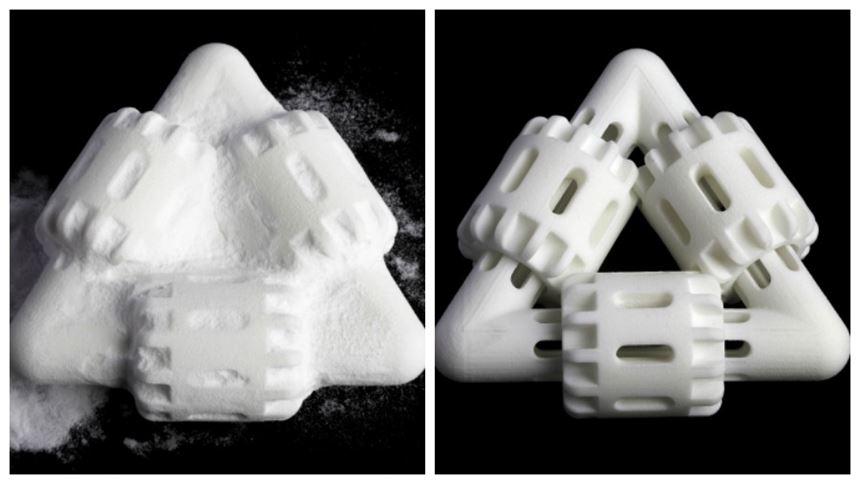 Nylon 3d-printed part