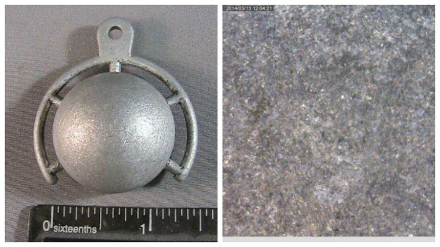 Metal 3D-printed part