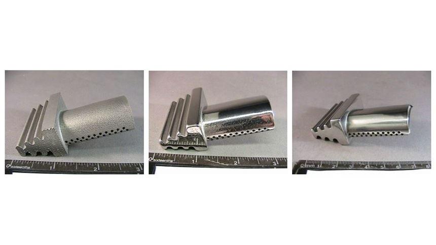 Sample air compressor blade