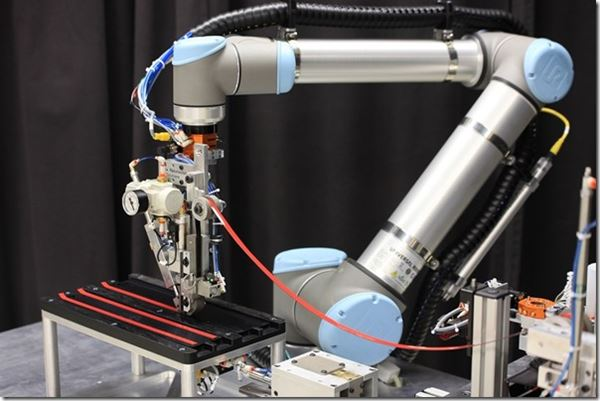 Robotic Tape System Developed image