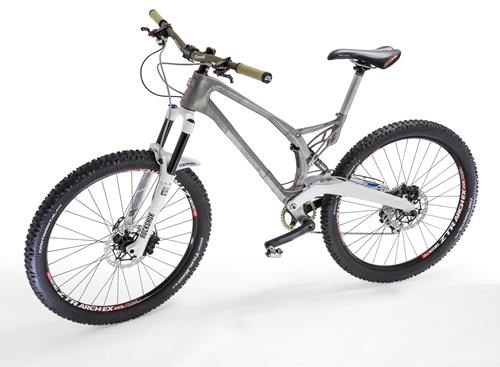 3D-Printed Titanium Bike Frame Manufactured for Empire Cycles ...