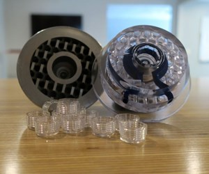3D-printed stainless steel cavity block