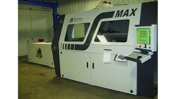 ExOne Max machine