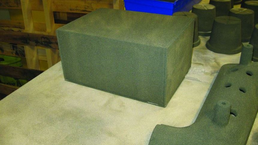 Box for a core