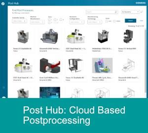 Siemens NX Cloud Based Postprocessing