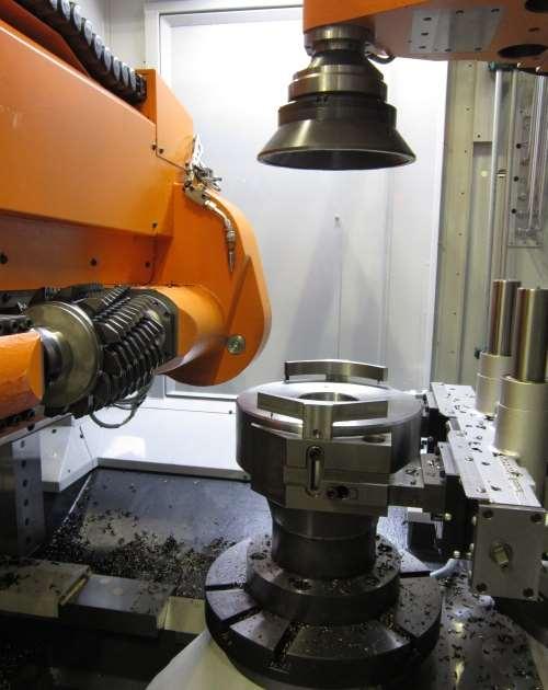 Liebherr LC 500 universal CNC gear hobbing machine