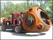 40,000-pound rotor hub