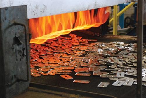 Plating fasteners