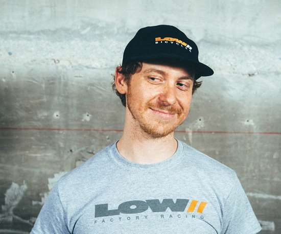 Andrew Low, owner of Low Bicycles.