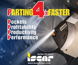 Iscar Parting4xFaster