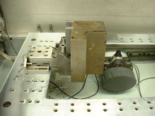 clamping tall parts