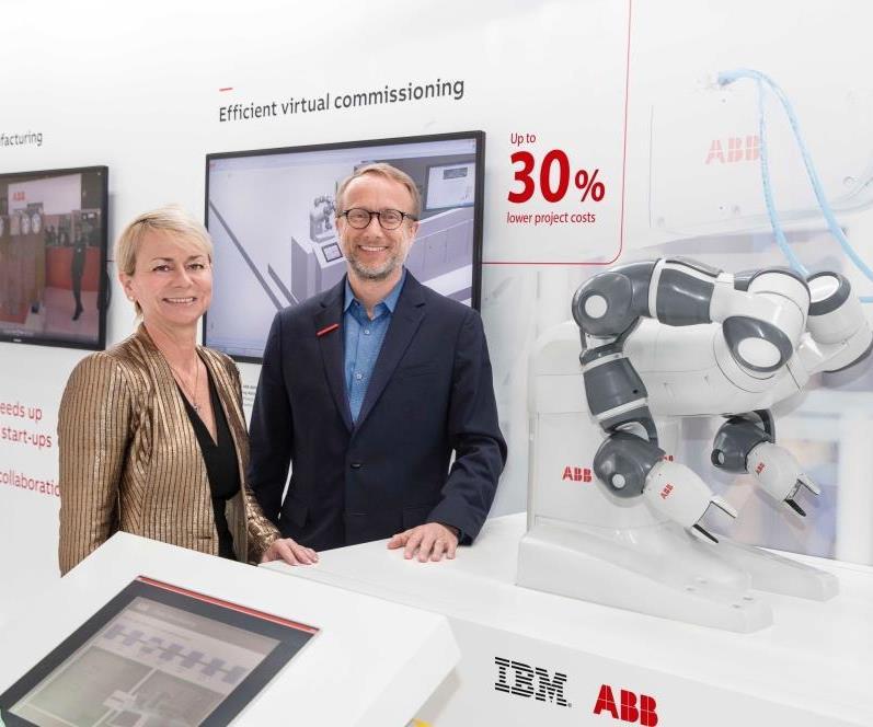 ABB and IBM partnership