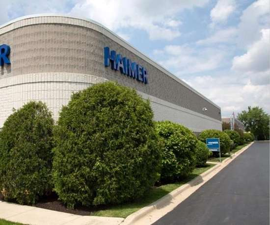 Haimer's expanded headquarters