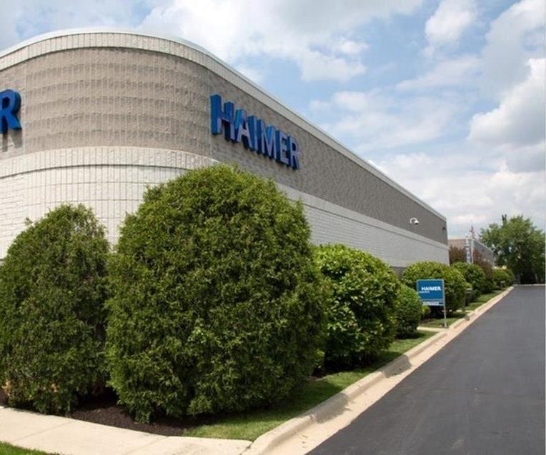Haimer's expanded headquarters