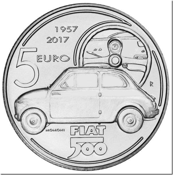 2017 - 60° Anniversario della nascita della Fiat 500 (1957 - 2017)