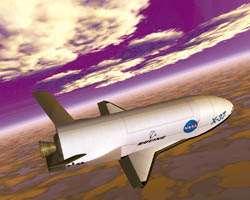 X-37 illustration