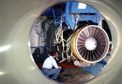 Rolls-Royce AE 3007 jet engine
