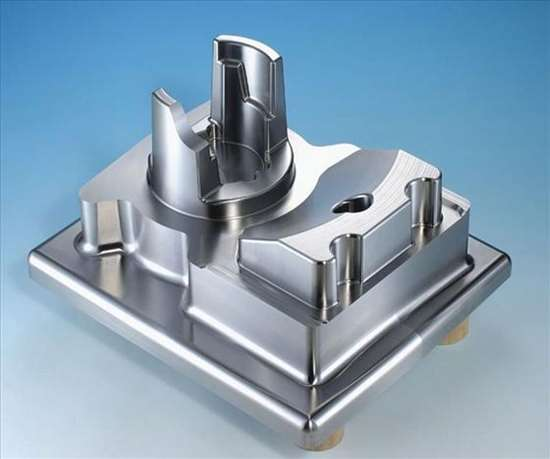 3D machining of molds and dies