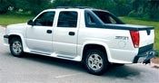 Composite running boards