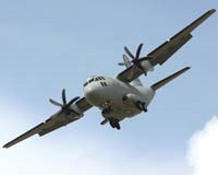 C-27J with all composite propellers