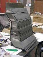 One-piece torque box