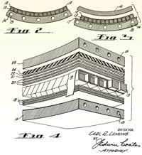 Illustrated layup process forChamberCore-type structure