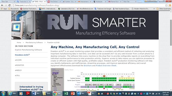 Función de software que visualiza datos de máquinas-herramienta de 5ME