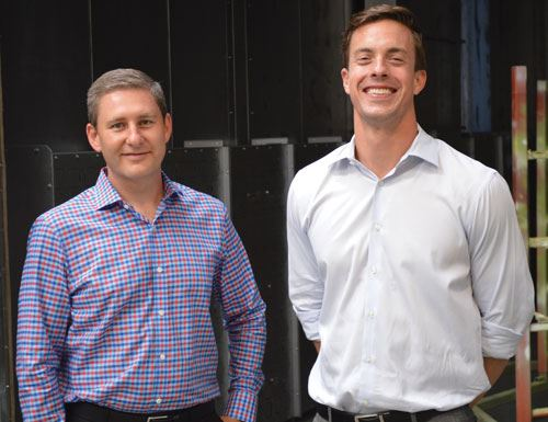 Trevor Bohn (left) and Ryan Murphy (right) of Salem Partners