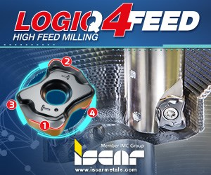Iscar LOGIQ4Feed High Feed Milling