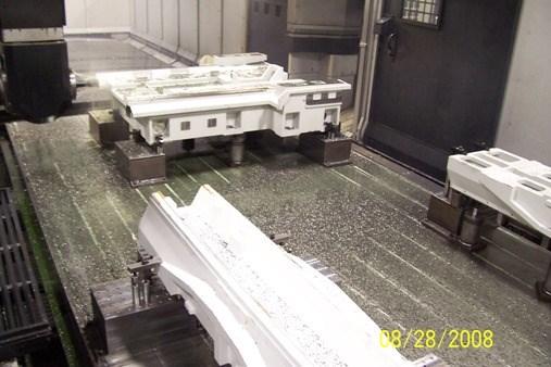 Mazak V140N Parts Table