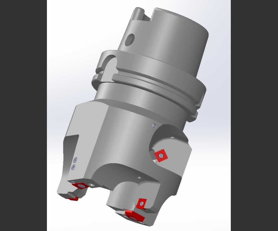 software rendering of cutting tool