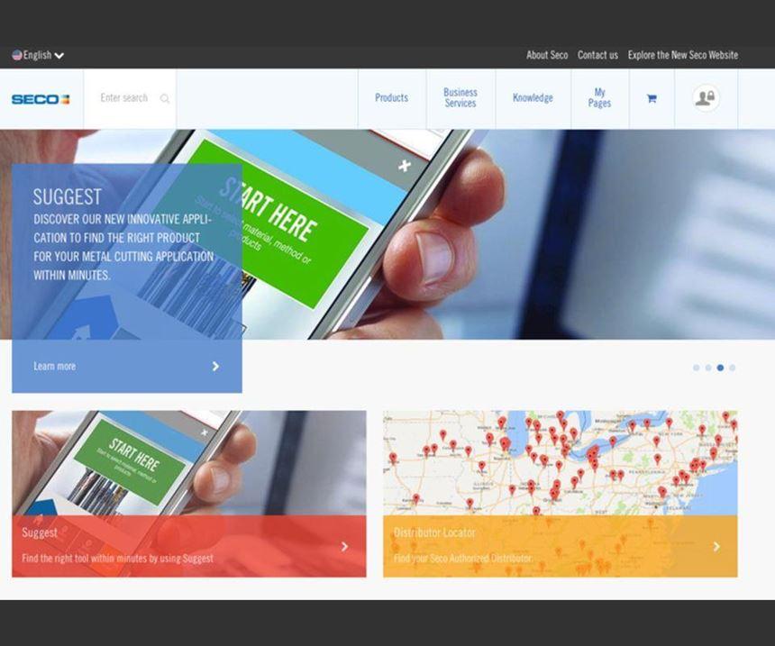 Seco Tools website