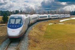Acela high-speed train