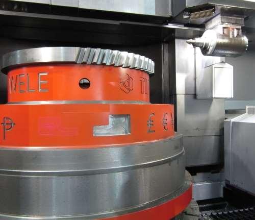 Wele's VTC 1616 vertical turret lathe