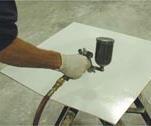 Liquid mold release