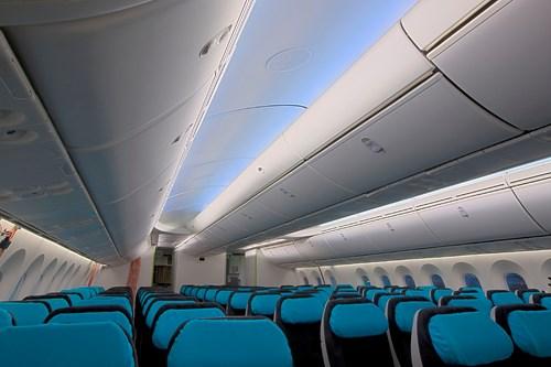 787 interior