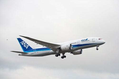 Second 787 first flight
