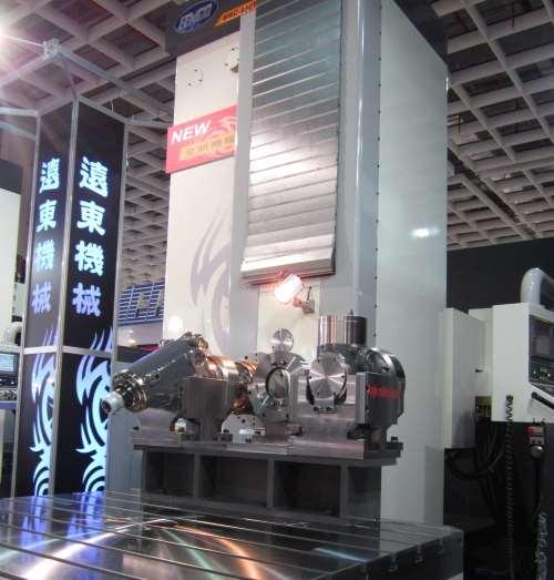 Femco's BMC 250T horizontal boring mill