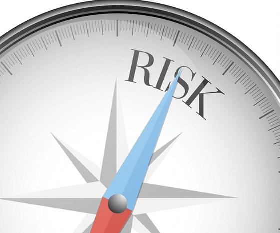 Risk meter on high